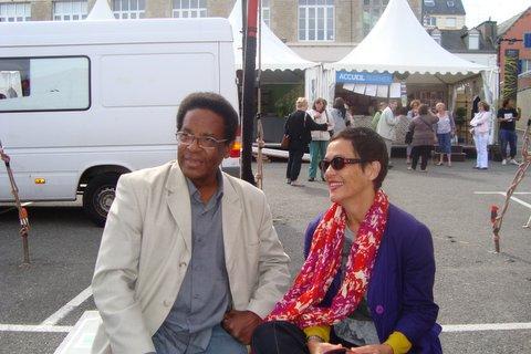 Françoise Vergès et Max Relouzat à Douarnenez, un premier contact fructueux