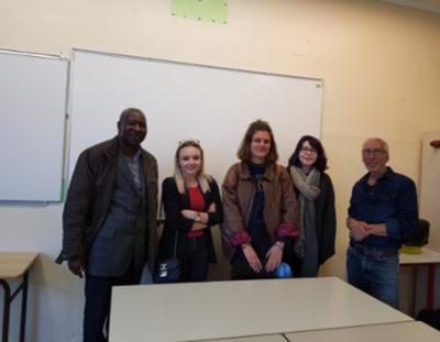 Rencontre avec les lycéens de l'Harteloire de Brest